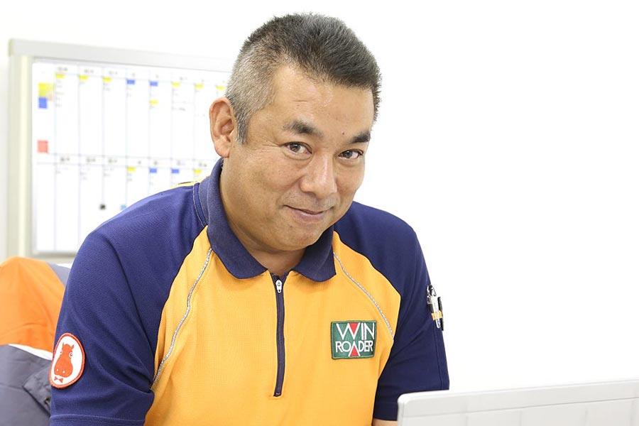 ウインローダー 物流事業部取締役 髙野 登